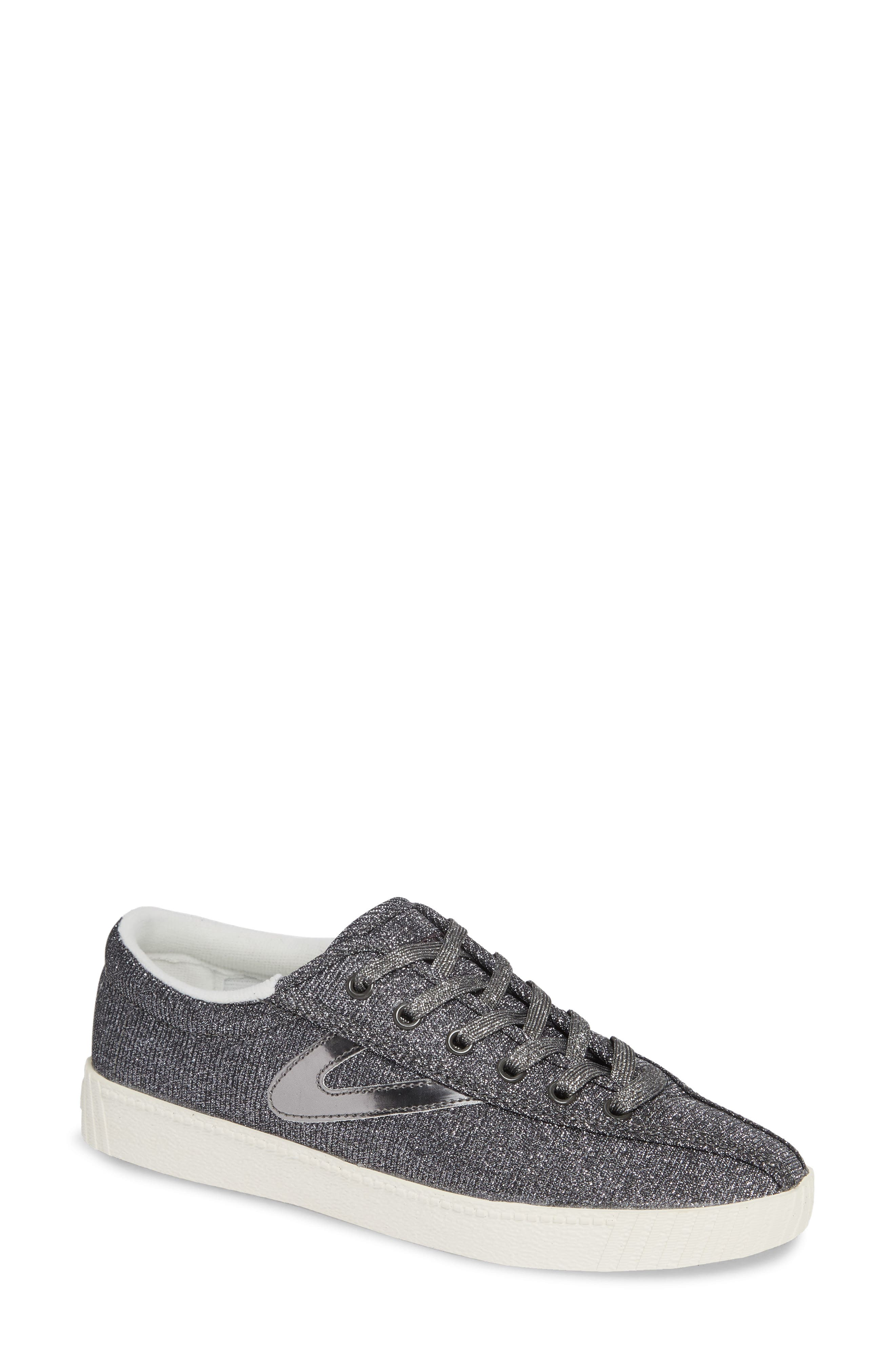 'Nylite' Sneaker,                         Main,                         color, Pewter/ Pewter