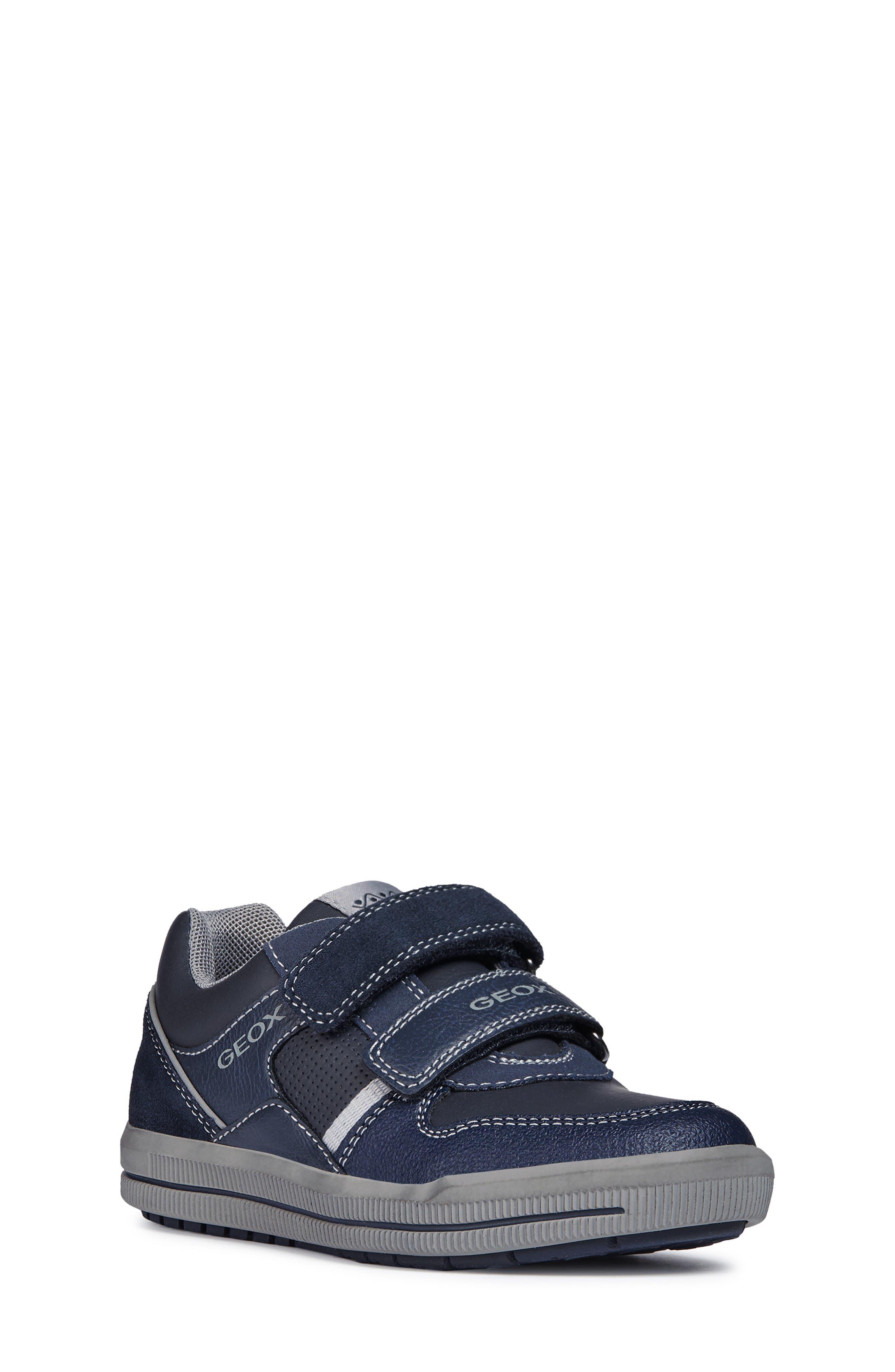 Jr Arzach Sneaker,                         Main,                         color, Navy Blue/ Grey
