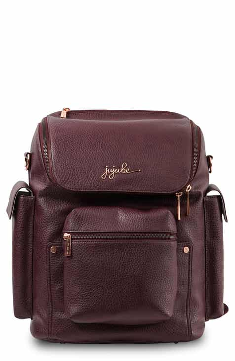 ac42e68b0376b Ju-Ju-Be Ever Collection Forever Faux Leather Diaper Backpack