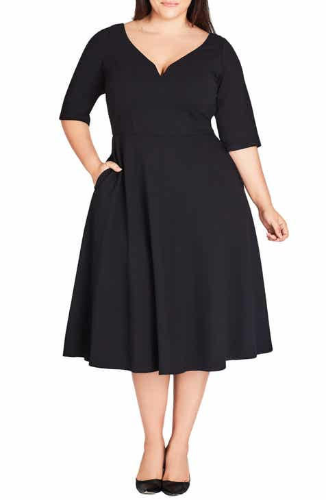 90e9381c95370 City Chic Cute Girl Dress (Plus Size)