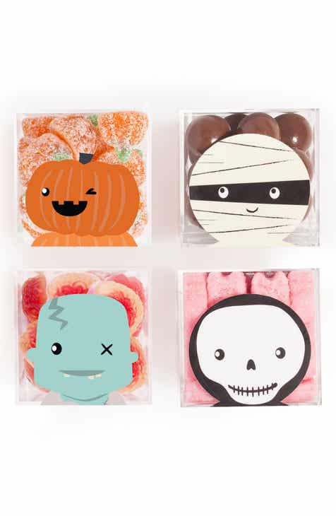 sugarfina halloween set of 4 candy cubes