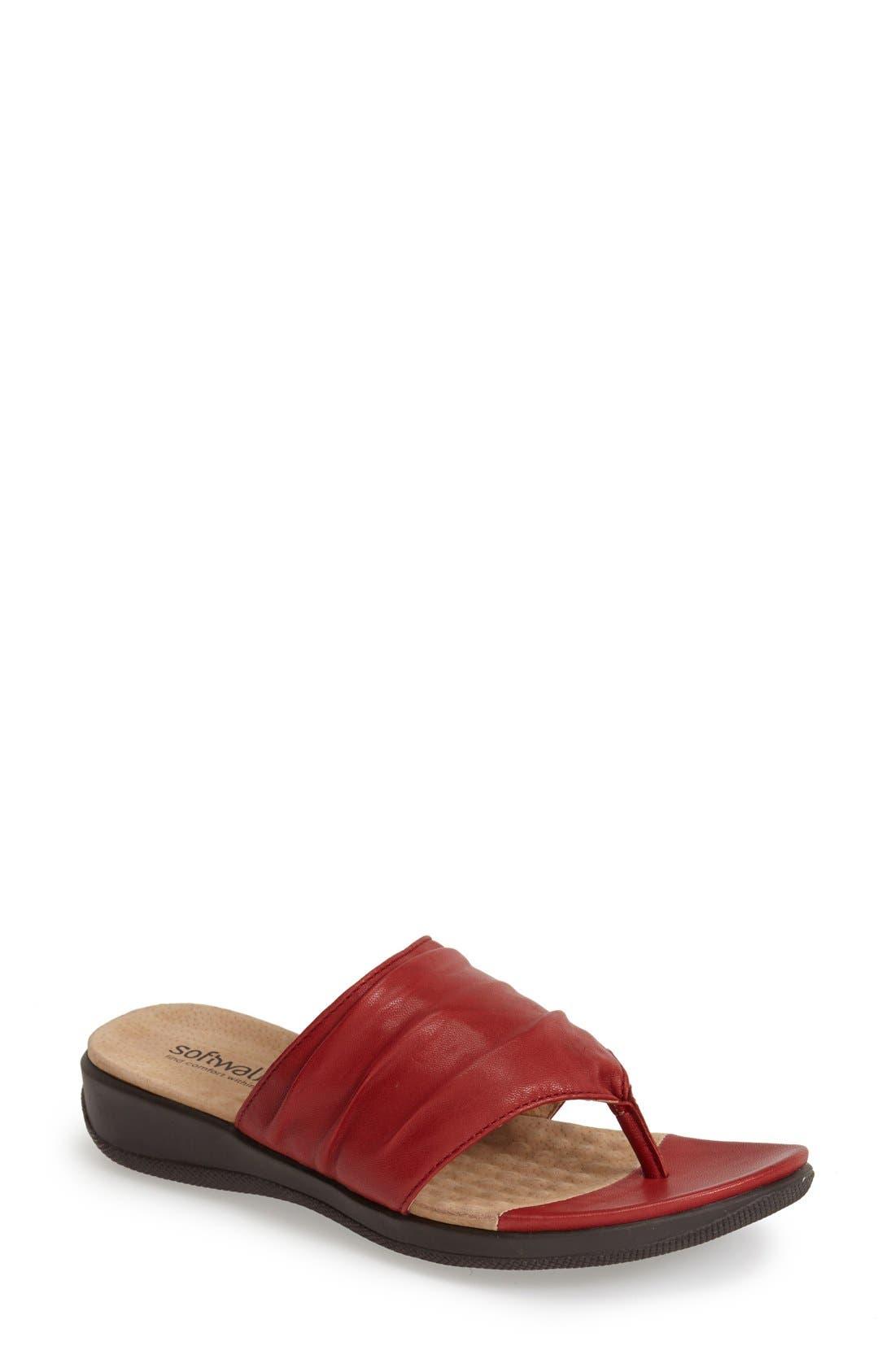 SoftWalk® 'Toma' Thong Sandal (Women)