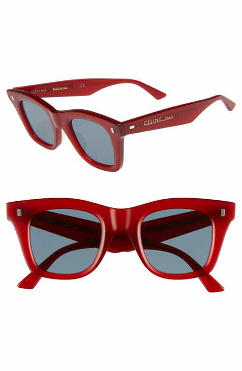 26a8908ff3 Red CELINE Sunglasses  Audrey