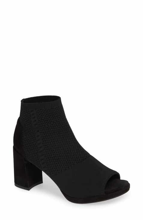 94c49a3a139c Eileen Fisher Margate Peep Toe Bootie (Women)