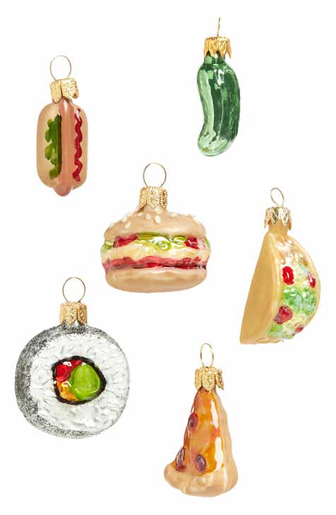 nordstrom at home savory set of 6 mini ornaments