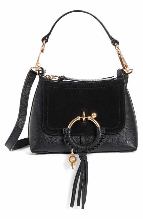 b1d3a39290d See by Chloé Mini Joan Leather Crossbody Bag
