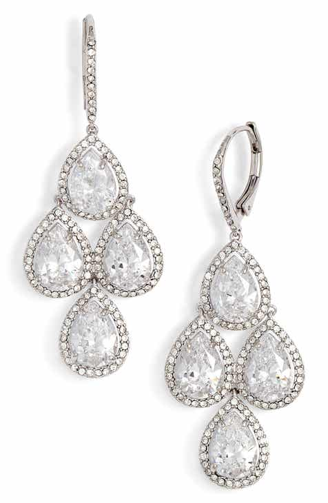 Nordstrom Crystal Chandelier Earrings
