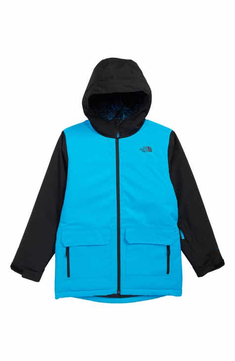 6e9bb10d74d1 The North Face Freedom Waterproof Insulated Snowsports Jacket (Big Boys)