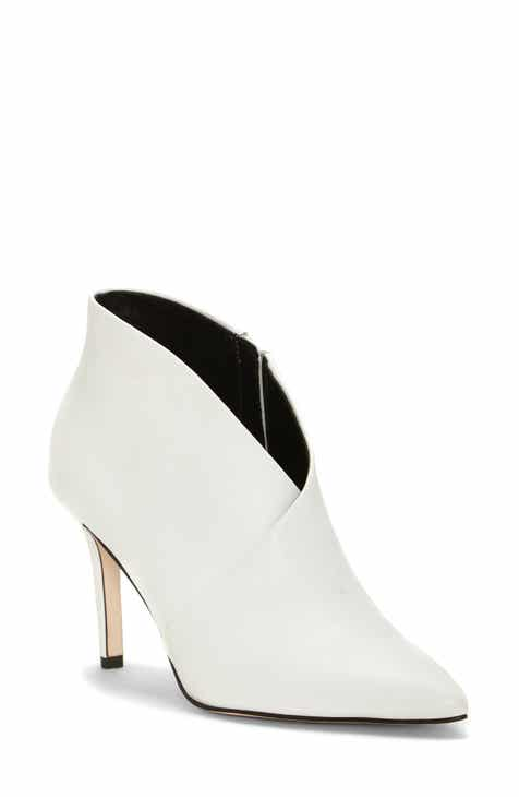 3db095a6e20 Women s White Booties   Ankle Boots