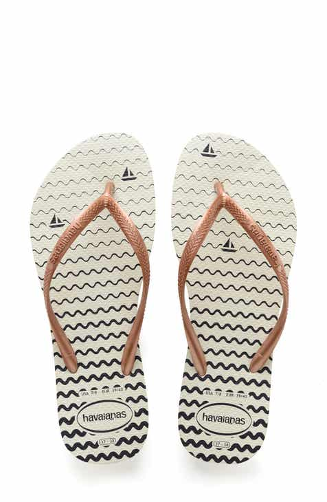 0744d709304e Havaianas Slim Oceano Flip Flop (Women)