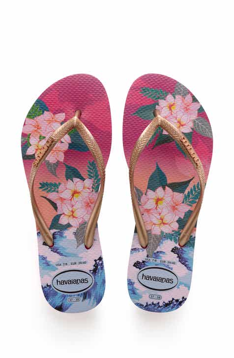 09df18f876b588 Havaianas Slim Tropical Sunset Flip Flop (Women)