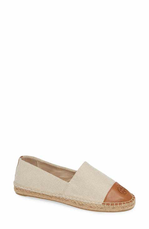 c49318fbc50f64 Tory Burch Colorblock Espadrille Flat (Women)