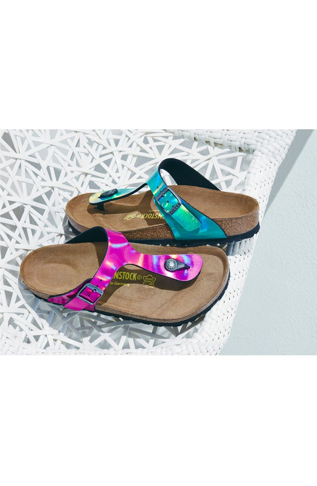 'Gizeh' Thong Sandal,                             Alternate thumbnail 3, color,