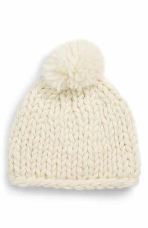 e957bc056fd Nirvanna Designs Chunky Knit Pompom Beanie