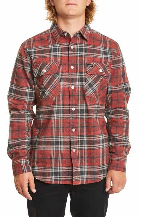 Brixton Bowery Flannel Shirt a6093c1269f