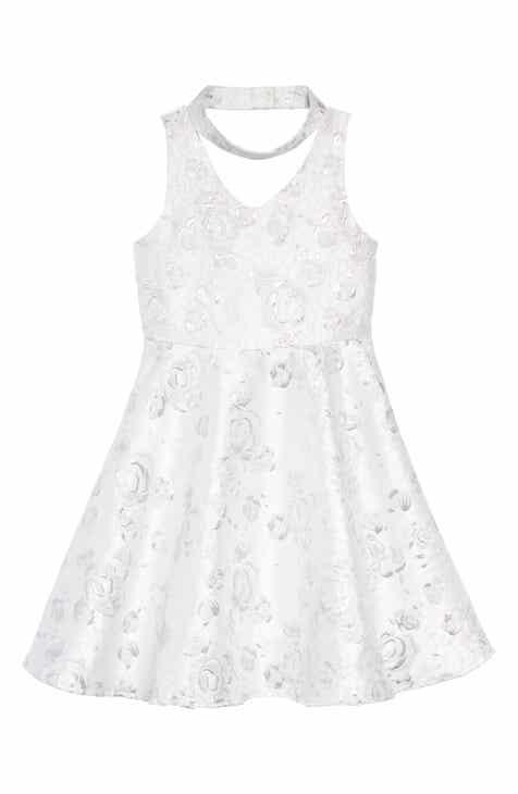 Flower girl dresses accessories nordstrom pastourelle by pippa julie gigi floral dress big girls mightylinksfo