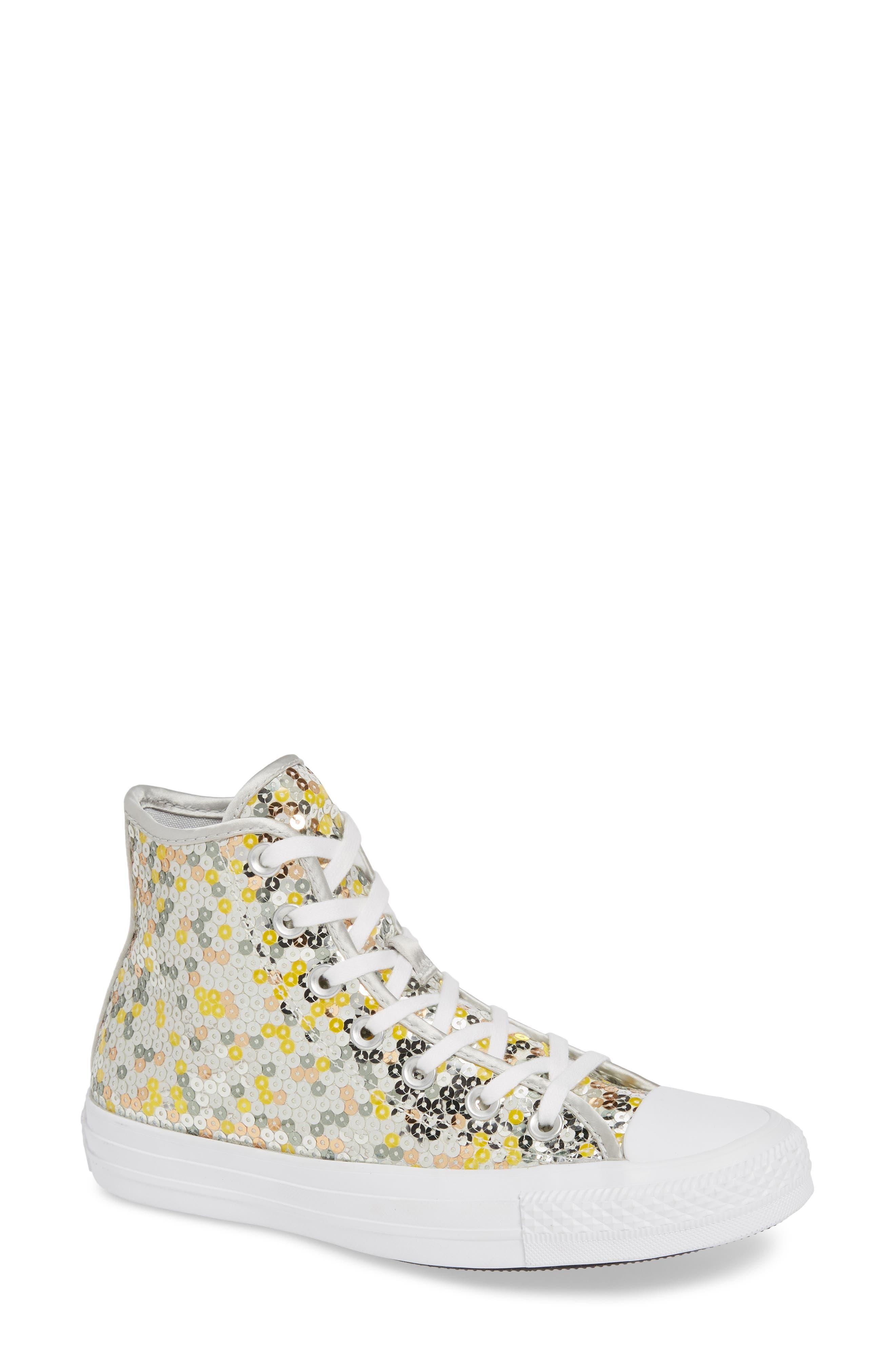 b0ce582f6e6c 579d2 79b99  amazon converse chuck taylor all star sequin high top sneaker  women bfe84 94b7f