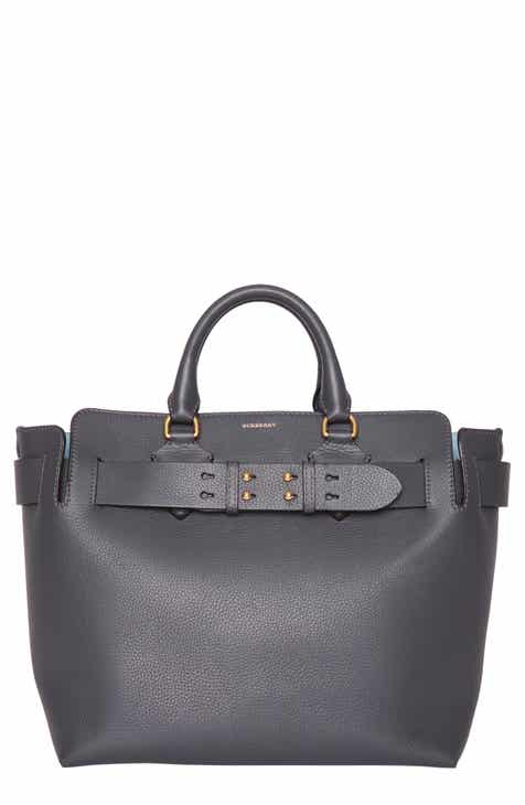 Burberry Medium Leather Belted Bag