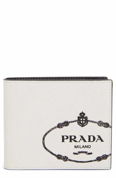 043f0ed018922 Prada Saffiano Leather Bifold Wallet