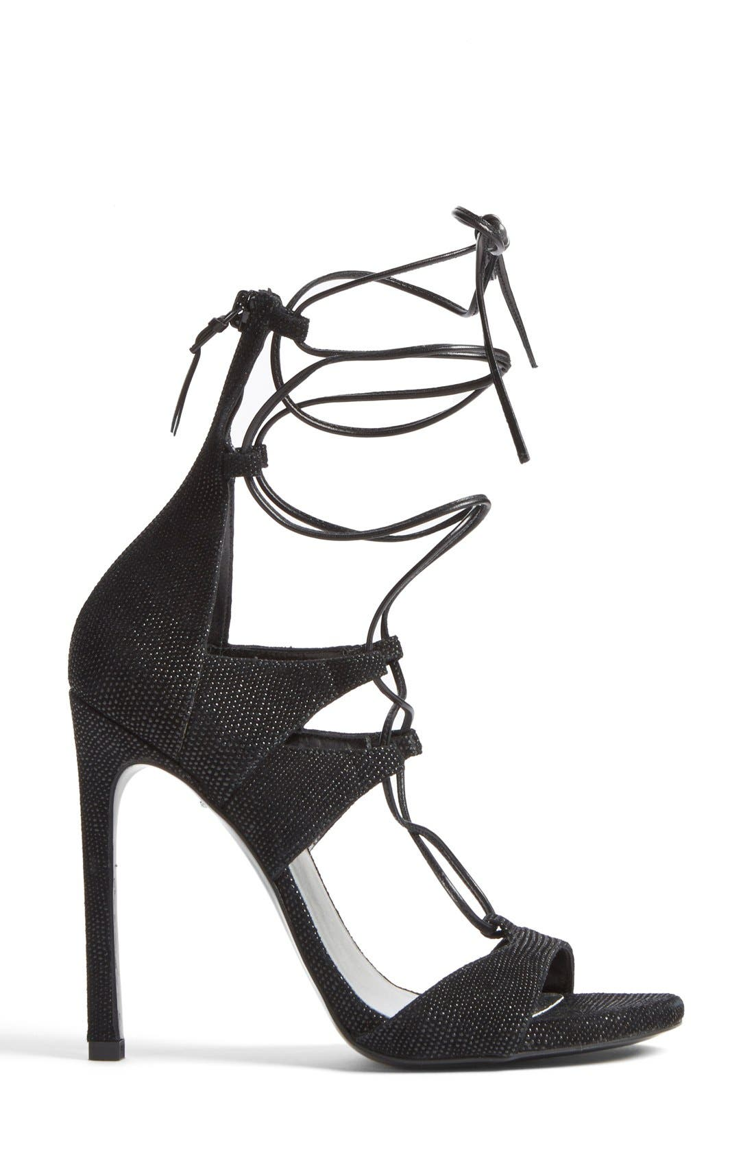 Alternate Image 5  - Stuart Weitzman Leg Wrap High Dress Sandal (Women)