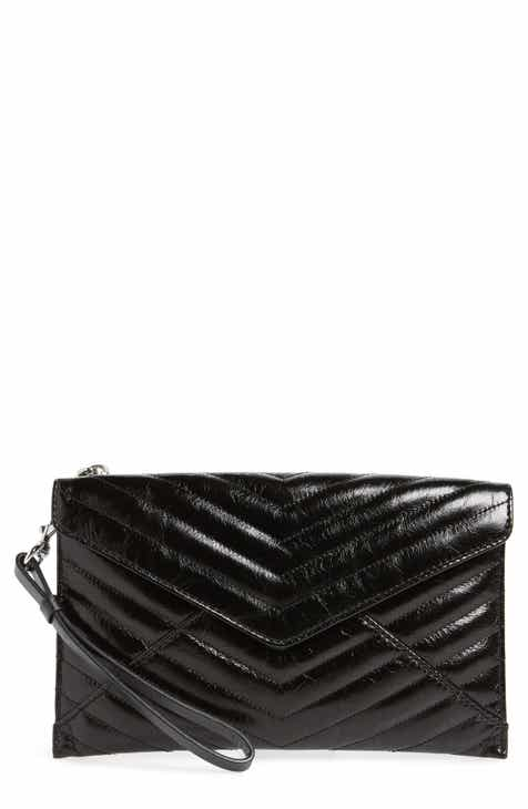 5d5a8f7d4548 Rebecca Minkoff Leo Quilted Leather Clutch