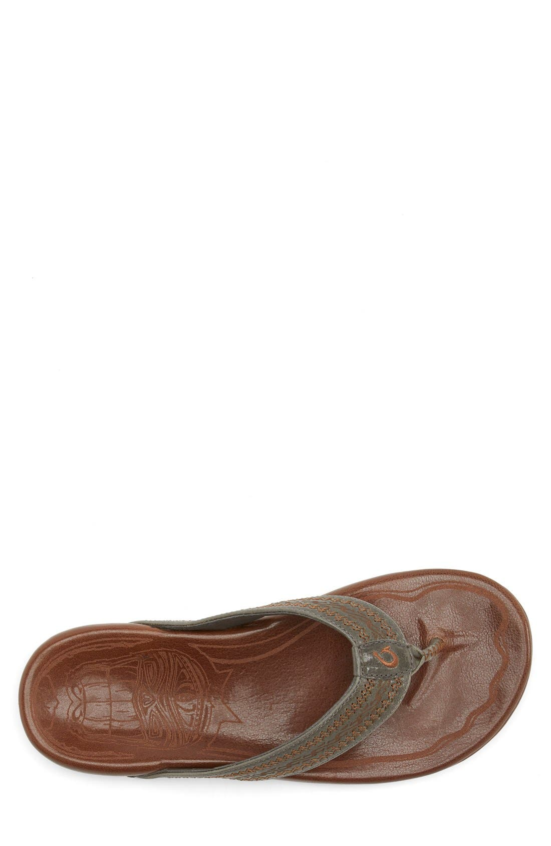 Alternate Image 6  - OluKai 'Akua' Flip Flop (Nordstrom Exclusive) (Men)