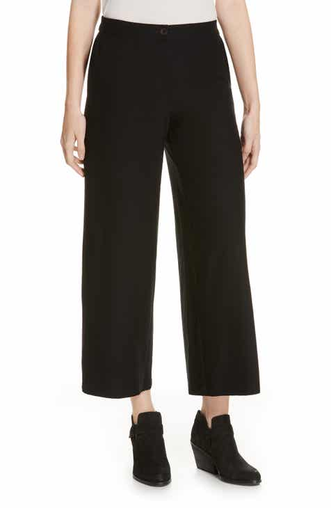 Eileen Fisher High Waist Ankle Pants (Regular & Petite) by EILEEN FISHER