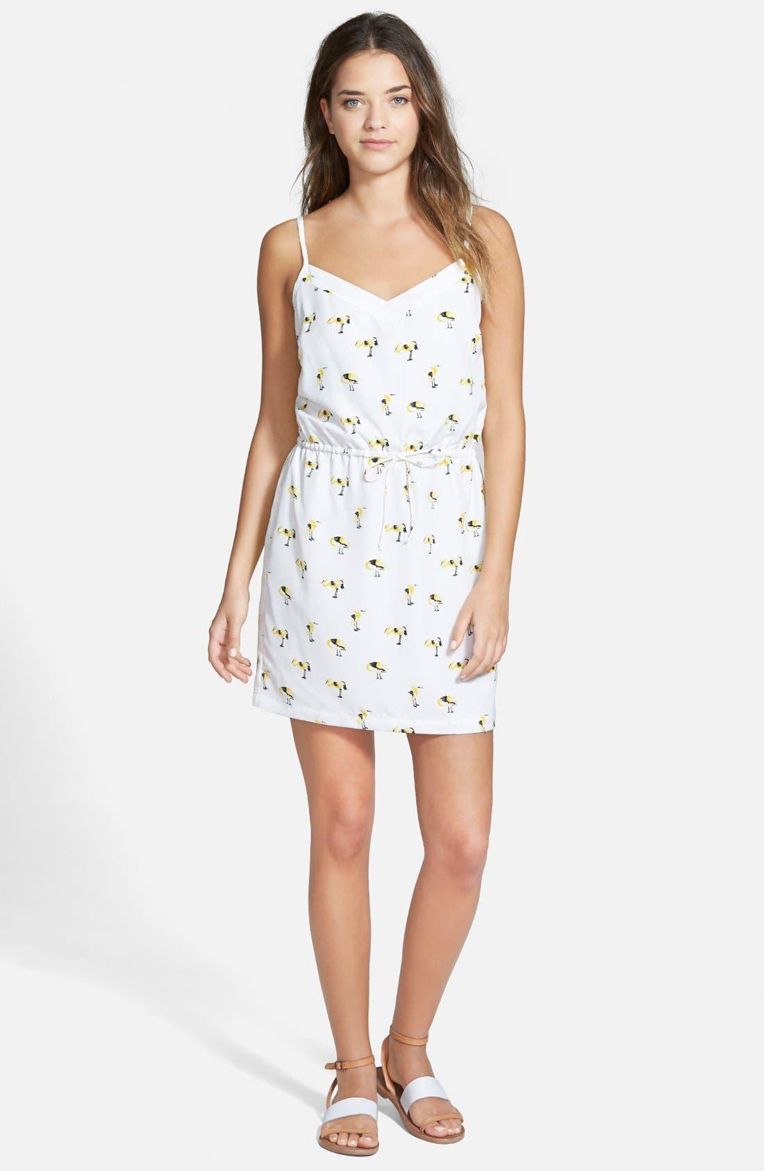 Main Image - oat + fawn Bird Print Dress