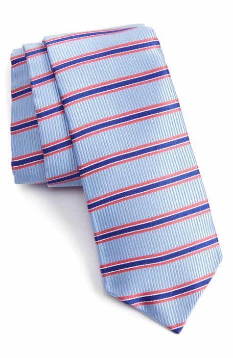 625a7f184ae1 Nordstrom Men s Shop Sunset Stripe Silk Tie
