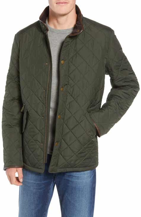 78dac09ba9d2f Barbour  Powell  Regular Fit Quilted Jacket