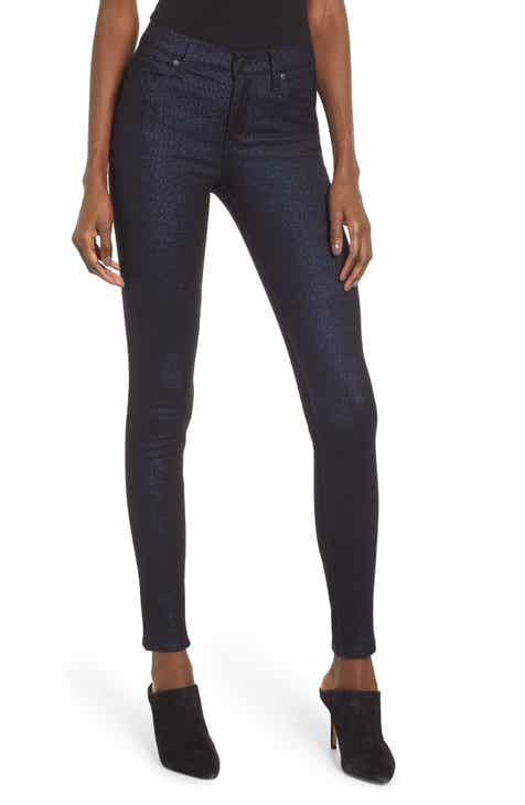 Hudson Jeans Nico Ankle Super Skinny Jeans (Midnight Stellar) 4a8df2b6a5
