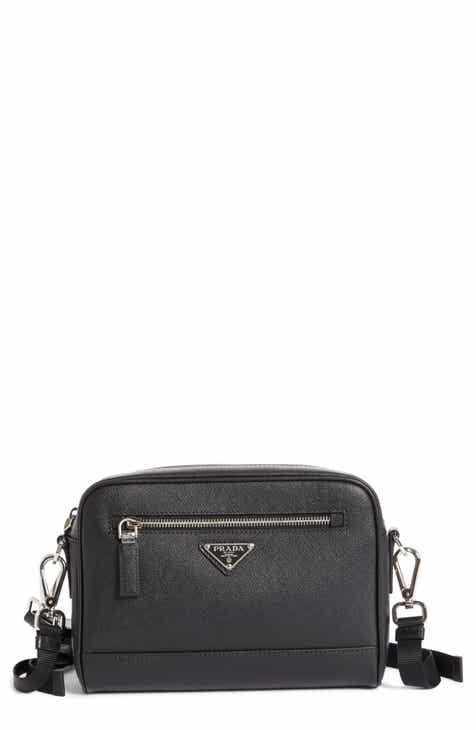 e04deb1a4433 Prada Saffiano Leather Travel Bag