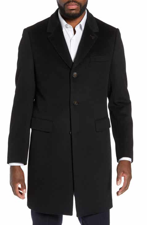 Ted Baker London Swish Wool & Cashmere Overcoat