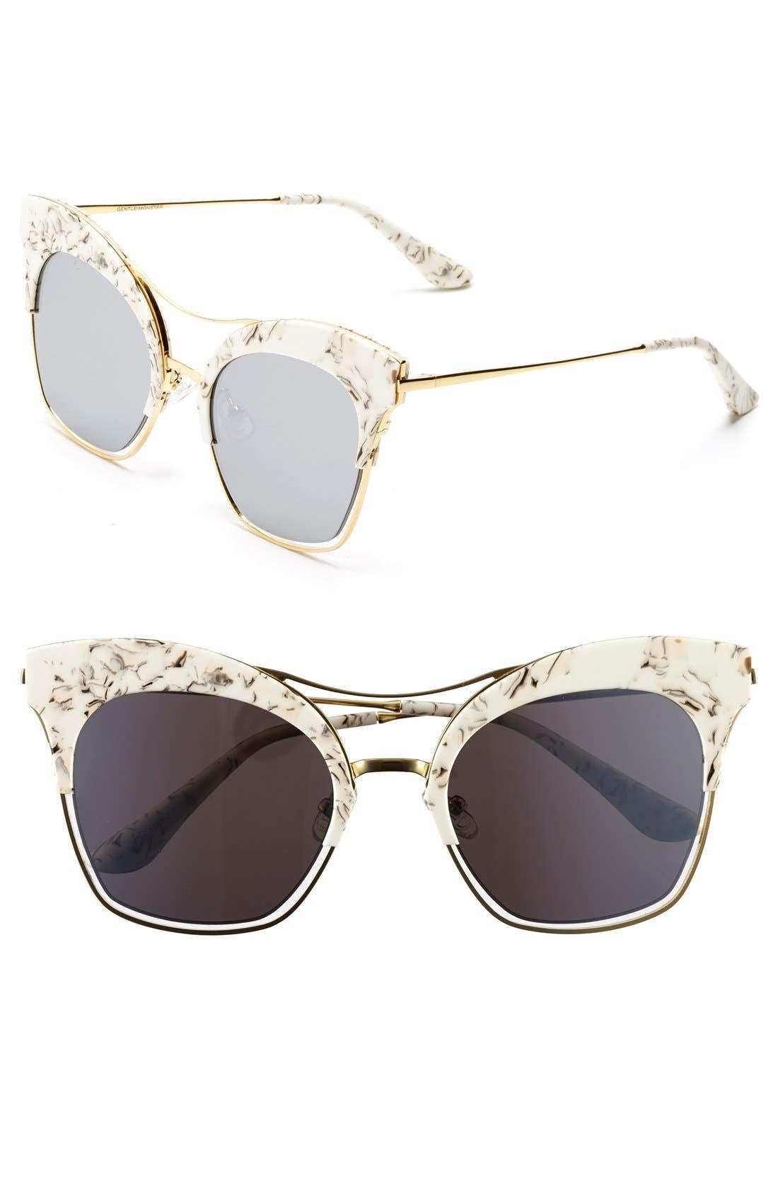 Main Image - Gentle Monster 54mm Cat Eye Sunglasses