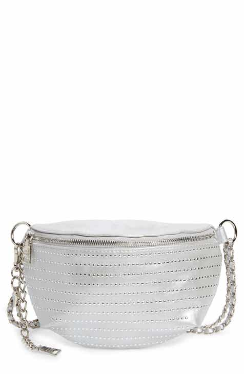 4443706b770 Steve Madden Becca Metallic Studded Belt Bag