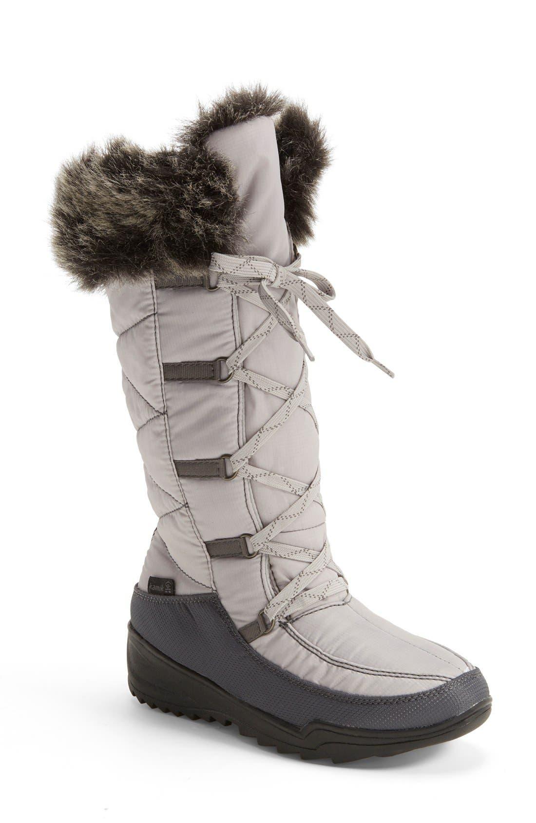 Alternate Image 1 Selected - Kamik 'Porto' Waterproof Winter Boot (Women)