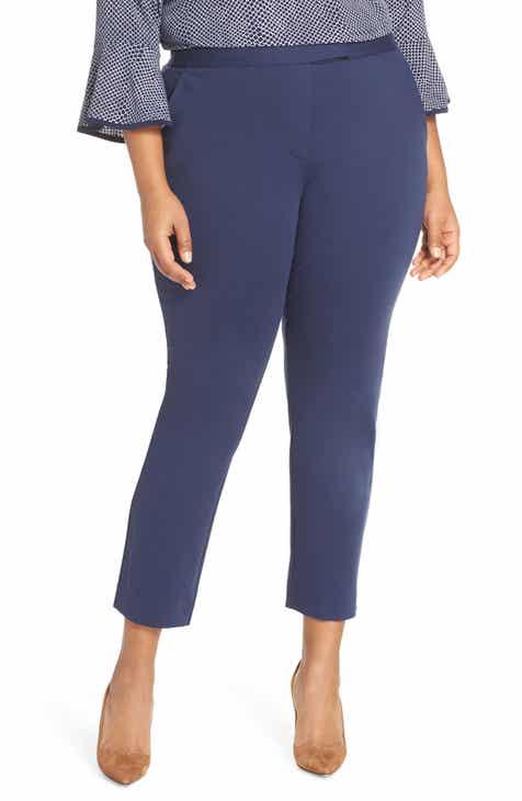 f56220d6f2a MICHAEL Michael Kors Ponte Ankle Pants (Plus Size)