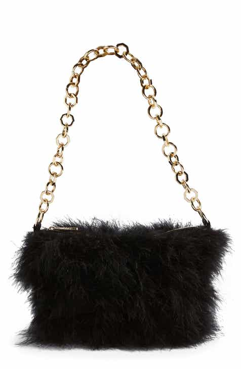 Topshop Flo Marabou Feather Shoulder Bag 59e1e95160