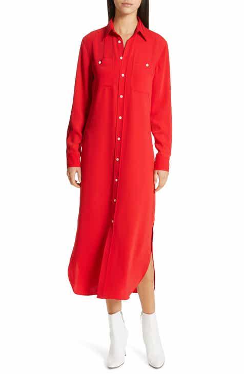 d83cbff4ca Polo Ralph Lauren Midi Shirtdress