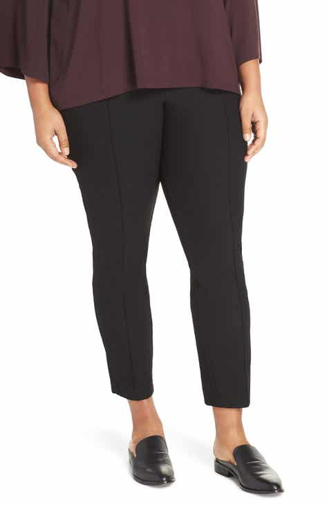 c18d592cc13 Eileen Fisher Slim Ankle Pants (Plus Size)