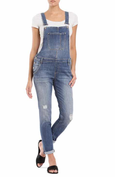 99bfd042867 Mavi Jeans Edera Distressed Overalls (Indigo Vintage)