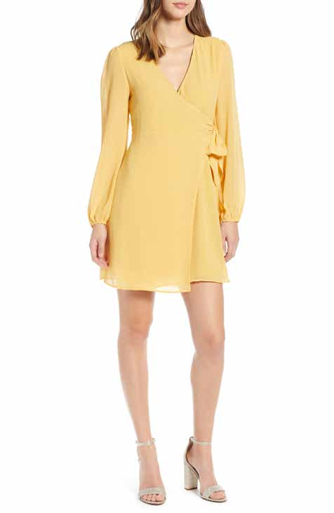 Women s Yellow Dresses  bf30e6977