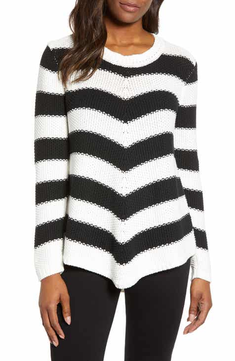 Caslon® Stitch Stripe Sweater (Regular   Petite) f6ab622f6