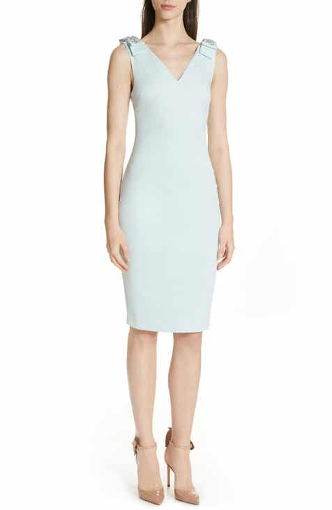 2c0423f4bf569 Ted Baker London Belliah Bow Shoulder Body-Con Dress