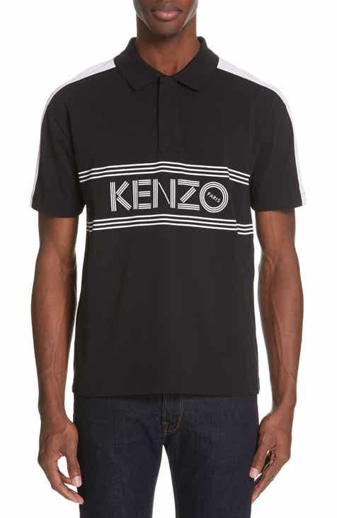 KENZO Sport Graphic Jersey Polo