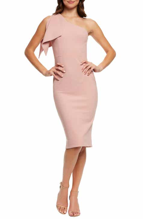 Dress the Population Tiffany One-Shoulder Midi Dress e816355fc