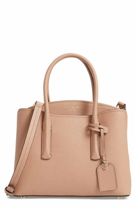 kate spade new york medium margaux leather satchel 8d9df28737