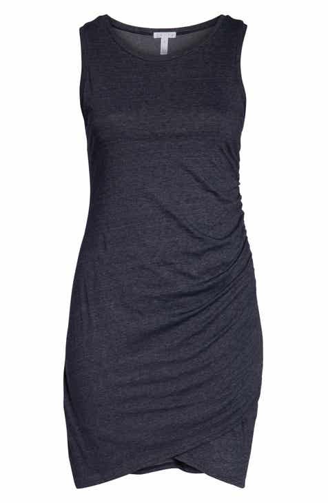 Leith Ruched Sheath Dress (Plus Size) by LEITH