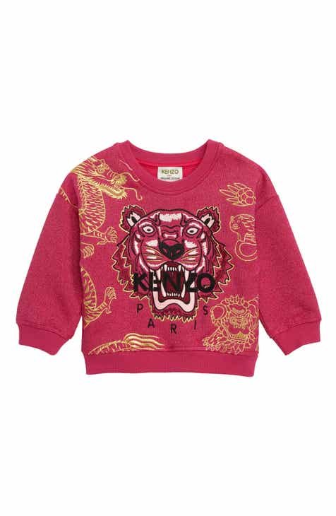 c957c65b KENZO Year of the Pig Glitter Sweatshirt (Toddler Girls, Little Girls & Big  Girls)