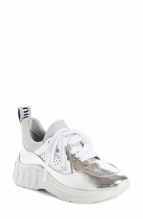 Miu Miu Logo Sole Sneaker (Women) 427442112a